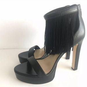 Katy Perry The Inez Sandals Platform Heels Fringe